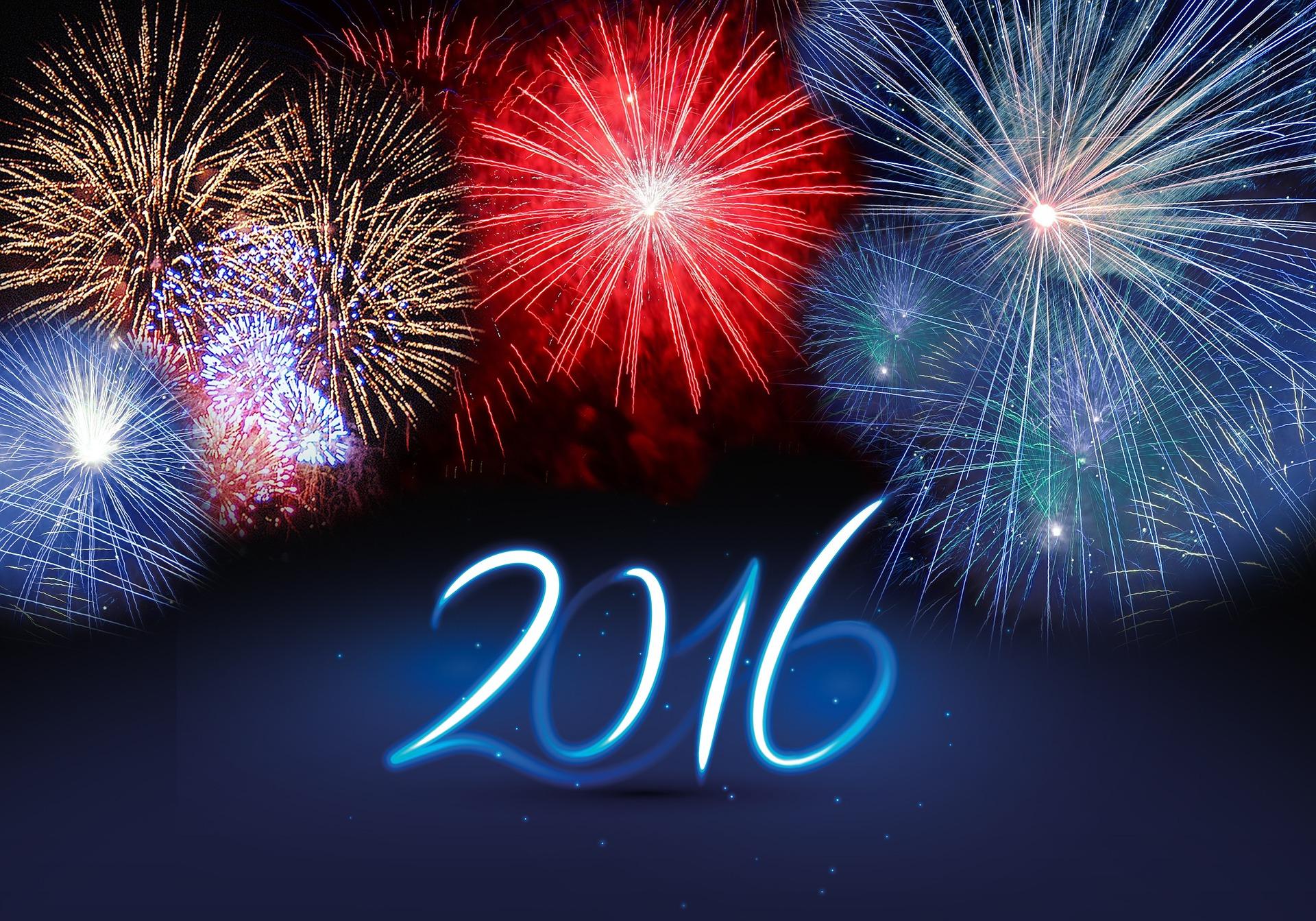 Guten Rutsch und frohes neues Jahr 2016